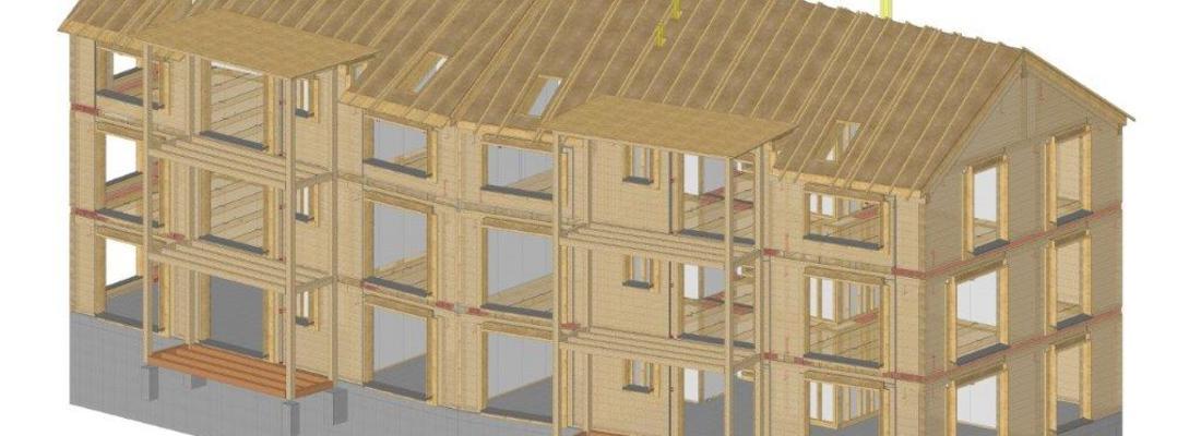 Neubau Mehrfamilienhaus in Lyss
